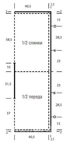 Схема вязания пончо с глубоким вырезом и бахромой раздел вязание спицами для женщин накидки и болеро для женщин