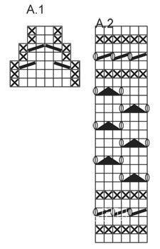 Схема вязания носки с ажурной манжетой раздел вязание спицами для женщин носки