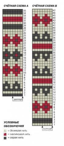 Схема вязания жаккардовые носки с пяткой бумеранг раздел вязание спицами для женщин носки