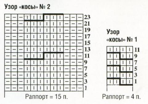 Схема вязания свободные шорты с высокой талией  раздел вязание спицами для женщин брюки, шорты