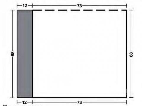 Схема вязания удлиненная безразмерная накидка раздел вязание спицами для женщин пальто