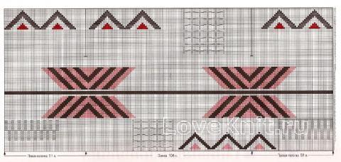 Схема вязания удлиненное пальто с накладными карманами раздел вязание спицами для женщин пальто
