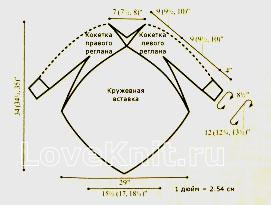 Схема вязания ажурная туника с ассиметричной длиной раздел вязание крючком для женщин платья, сарафаны для женщин