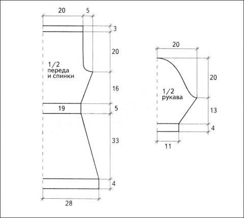 Схема вязания ажурная туника с открытым плечом раздел вязание крючком для женщин платья, сарафаны для женщин