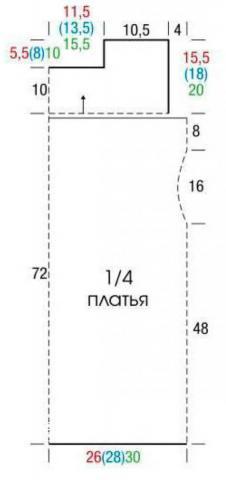 Схема вязания кружевное платье без рукавов с мотивом из квадратов раздел вязание крючком для женщин платья, сарафаны для женщин