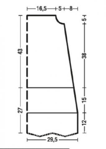 Схема вязания трапециевидное платье с горловиной из шнурков раздел вязание крючком для женщин платья, сарафаны для женщин