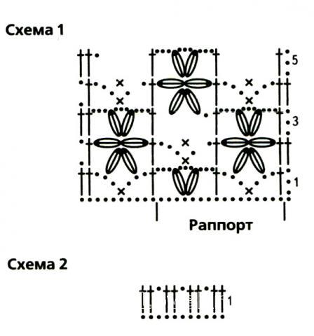 Схема вязания ажурный джемпер с глубоким вырезом на спине раздел вязание крючком для женщин кофты для женщин