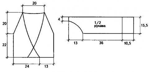 Схема вязания ажурный жакет с запахом раздел вязание крючком для женщин кофты для женщин