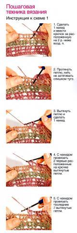 Схема вязания кофта с сетчатыми рукавами раздел вязание крючком для женщин кофты для женщин