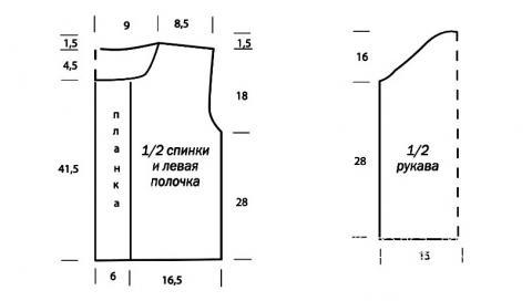 Схема вязания меланжевый жакет с окантовкой раздел вязание крючком для женщин кофты для женщин