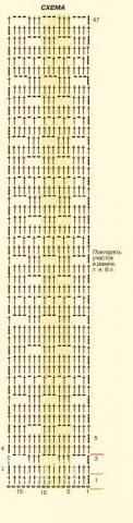 Схема вязания полупрозрачный ажурный топ на тонких бретелях раздел вязание крючком для женщин кофты для женщин