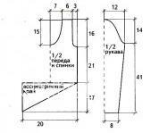 Схема вязания пуловер из ирландского кружева раздел вязание крючком для женщин кофты для женщин