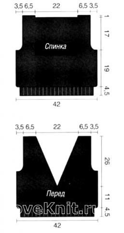 Схема вязания пуловер с кружевной кокеткой раздел вязание крючком для женщин кофты для женщин
