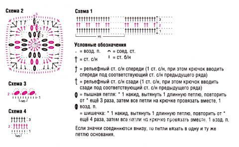 Схема вязания розовый топ на бретелях раздел вязание крючком для женщин кофты для женщин