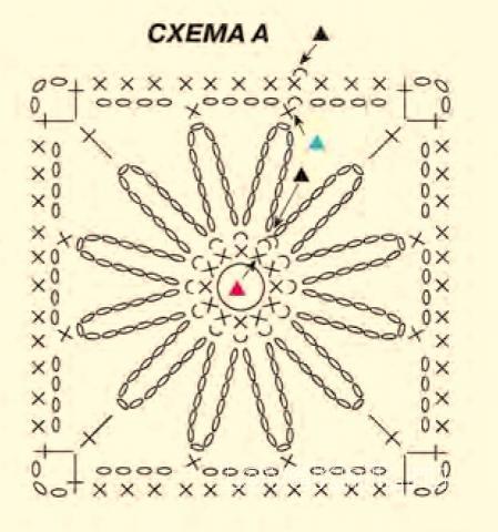 Схема вязания топ с ажурным орнаментом раздел вязание крючком для женщин кофты для женщин