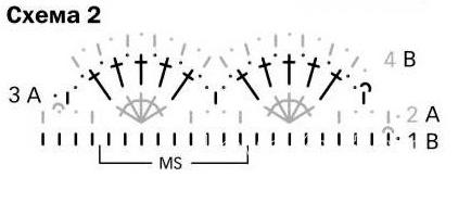 Схема вязания топ с глубоким вырезом раздел вязание крючком для женщин кофты для женщин