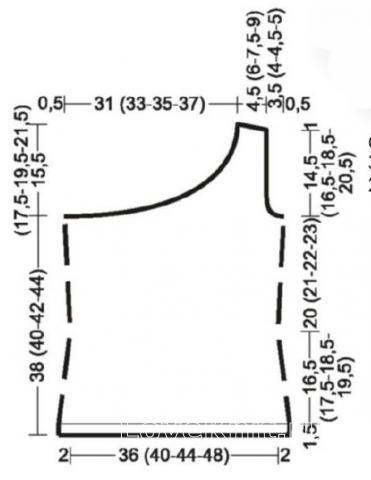 Схема вязания топ на одно плечо с пояском раздел вязание крючком для женщин кофты для женщин