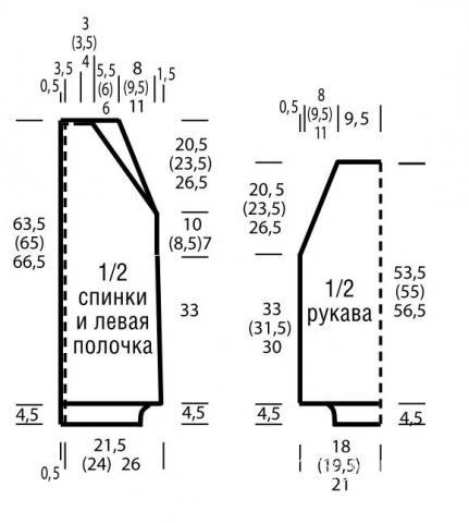 Схема вязания удлиненный жакет с капюшоном и рельефным узором раздел вязание крючком для женщин кофты для женщин