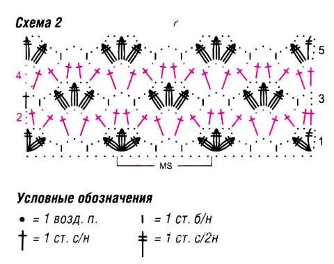 Схема вязания узорчатый жакет раздел вязание крючком для женщин кофты для женщин