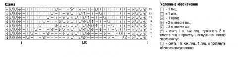 Схема вязания яркая безрукавка с контрастной отделкой раздел вязание крючком для женщин кофты для женщин