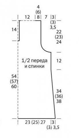 Схема вязания ажурная безрукавка с капюшоном раздел вязание крючком для женщин жилеты, безрукавки для женщин