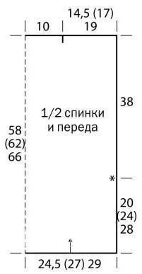 Схема вязания безрукавка с бахромой раздел вязание крючком для женщин жилеты, безрукавки для женщин