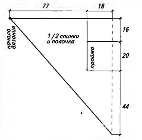 Схема вязания цветной жилет-шаль трансформер раздел вязание крючком для женщин жилеты, безрукавки для женщин