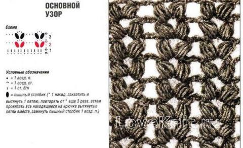 Схема вязания объемный шарф труба раздел вязание крючком для женщин шарфы, шали, палантины для женщин