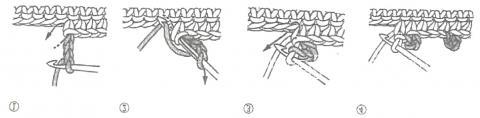 Схема вязания шаль с мотивом из цветных квадратов раздел вязание крючком для женщин шарфы, шали, палантины для женщин