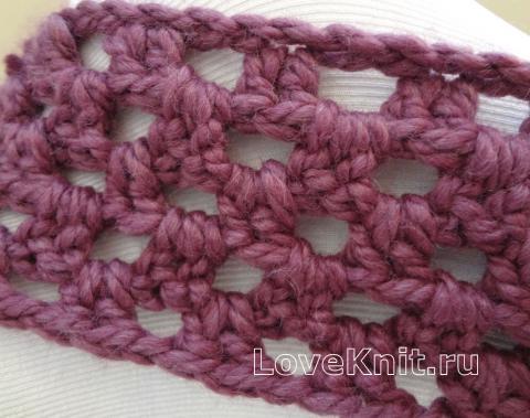 Схема вязания шарф снуд с пуговицами раздел вязание крючком для женщин шарфы, шали, палантины для женщин