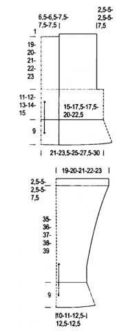 Схема вязания болеро с длинным рукавом и оборками раздел вязание крючком для женщин накидки, болеро для женщин