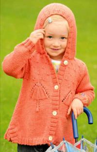 Как связать кофты удлиненный жакет с вышивкой для девочки