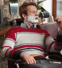 Как связать кофты полосатый пуловер с круглым воротником для мужчины