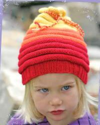 Как связать шапки детская шапка с закрученными краями