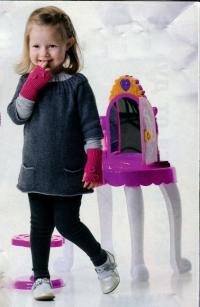 Как связать  детская туника с карманами