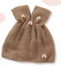 Как связать  детский сарафан без рукавов для маленькой принцессы