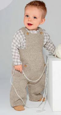 Вязание спицами детям 0-3 лет комбинезоны 18