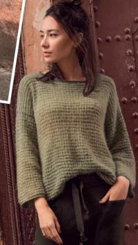Как связать спицами свободный пуловер с рукавом реглан
