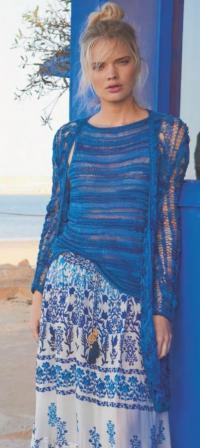 вязание спицами для женщин модные модели 2019 год с описанием