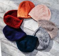 Как связать спицами цветные шапки бини в ассортименте