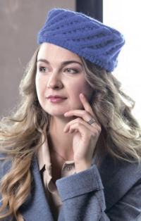 Как связать спицами шапка-кубанка