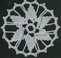 Фото узор круглые мотивы №1484 крючком