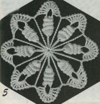 Фото шестиугольные мотивы (5) крючком
