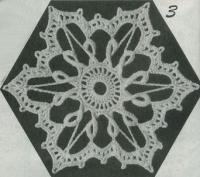 Фото шестиугольные мотивы (3) крючком