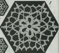 Фото шестиугольные мотивы (1) крючком