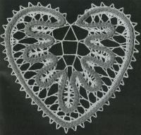 Фото узор сердце №1502 крючком