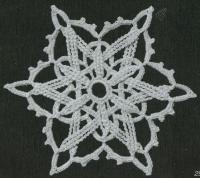 Фото узор круглые мотивы №1430 крючком