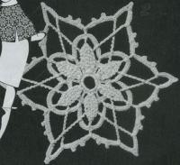 Фото узор круглые мотивы №1479 крючком
