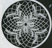 Фото круглые мотивы (10) крючком