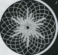 Фото круглые мотивы (9) крючком